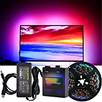 Alftek DIY Ambilight PC droomscherm USB LED-strips HD-computermonitor achtergrondverlichting adreseerbare LED-strips Full Set