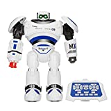 REALACC R1 Robot AD Police Files Programmable Combat Defender Intelligent RC Robot Remote Control Toy for Child