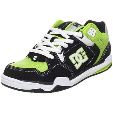 DC Shoes DECIBEL SHOE 302865 - Zapatillas de cuero nobuck para hombre, color negro, talla 44.5
