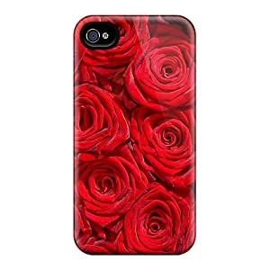Awesome Million Roses Flip Cases With Fashion Design For Iphone 6