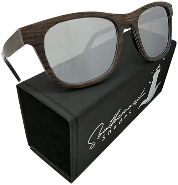 Amazon.com: Gafas de sol de madera de roble para hombres y ...