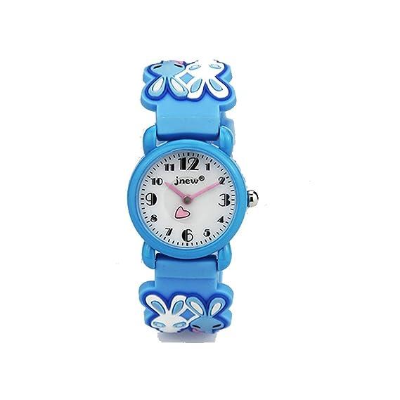 TOPCHANCES 3d resistente al agua relojes niños Cute dibujos animados muñeca reloj Digital relojes de Navidad Halloween para Niñas Niños: Amazon.es: Relojes