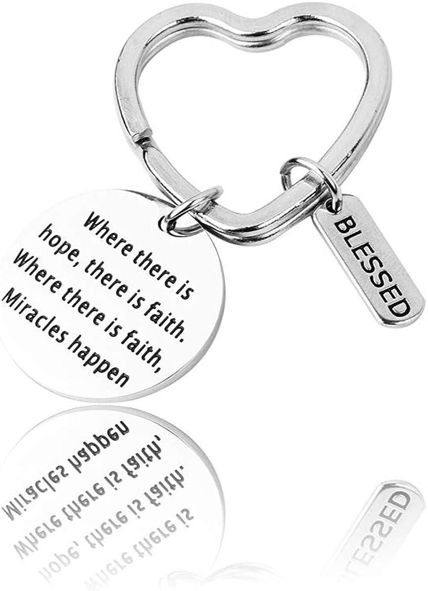 RUNXINTD Faith Bracelet...