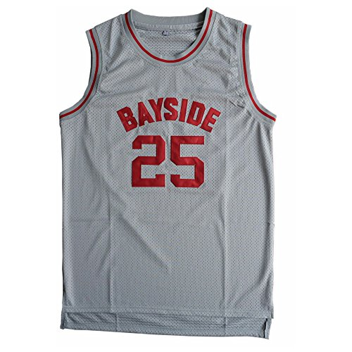 "CORESPOT MEN'S Basketball Jersey Morris 25 ""Bayside"" Basketball Jersey SIZE S-XXXL Grey COLOR"