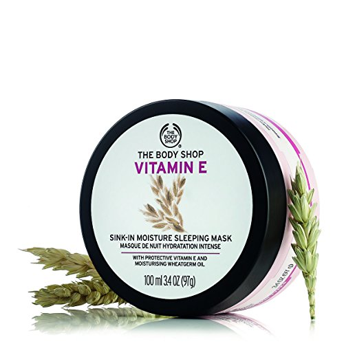 The Body Shop Vitamin E Sink-In Moisture Mask, 3.4 Ounce