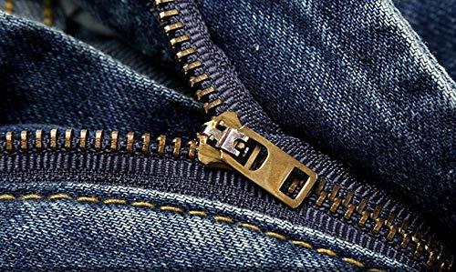 Classica Skinny A Classiche Alla Stampa Vintage Con Tinta Unita Jeans Ragazzi Pantaloni Blu Moda Strappati HxwqfppT