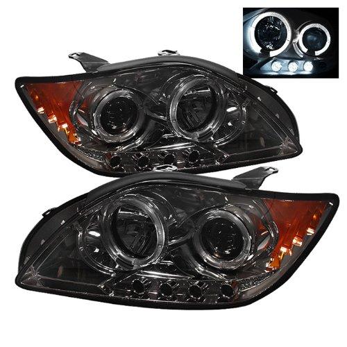 - Spyder Auto PRO-YD-TTC04-HL-AM-SMC Smoke Halo LED Projection Headlight