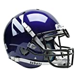 NCAA Northwestern Wildcats Authentic XP Football Helmet
