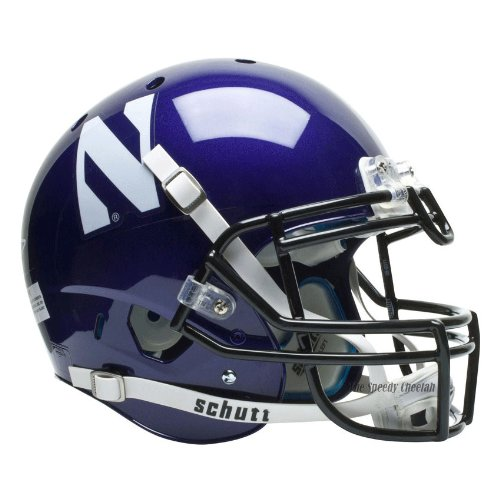 NCAA Northwestern Wildcats Authentic XP Football Helmet by Schutt