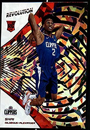 2018-19 Revolution Chinese New Year Red Parallel  103 Shai Gilgeous-Alexander  Los 70698767d