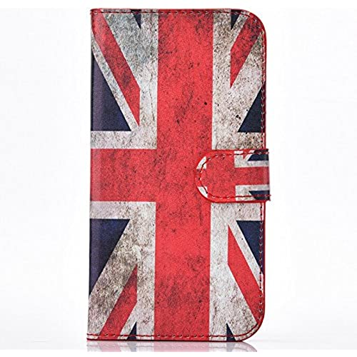 Galaxy S7 Edge Case, UUcovers(TM) Cartoon Cute Premium Leather Flip Folio shockproof Case [Card Slots/Monry Holder] Full Body Protective Cover for Samsung Sales