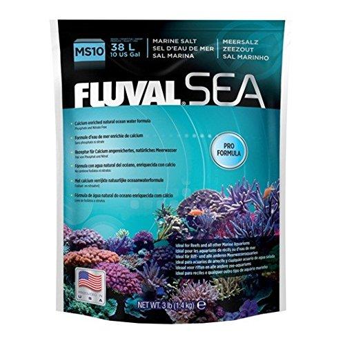 3Pound Fluval Sea Marine Salt for Aquarium, 15Pound
