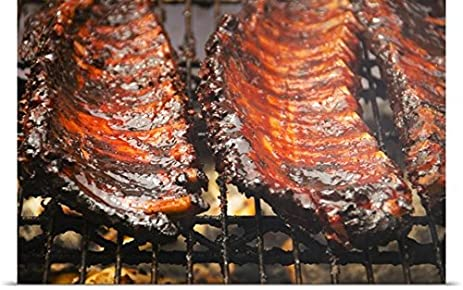 amazon com great big canvas poster print entitled spareribs on