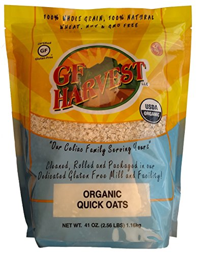 GF Harvest Organic Quick Oats, 41 Ounce Bag
