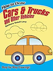 Children fascinated by cars and trucks will love learning to draw the variety of vehicles outlined in this simple, easy-to-follow guide. Step-by-step diagrams incorporating circles, semicircles, squares, rectangles and other common geo...