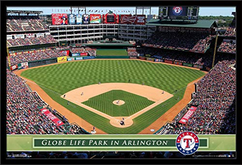 Trends International Texas Rangers-Globe Life Park Wall Poster, 24.25
