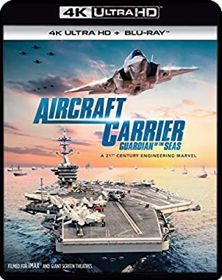 Aircraft Carrier: Guardian Of The Seas 4K ULTRA HD + BLU-RAY