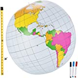 1 X 24-inch Write on Inflatable Discovery Globe