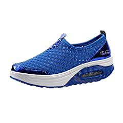 Features: * Material: mesh cloth fabric upper * PU + Air cushion sole * Gender: youth, teenagers, girls, ladies, women * Type: casual and sport * Breathable, skidproof and lightweight * Color for choose: black, pink, grey, blueSize Chart:Due ...