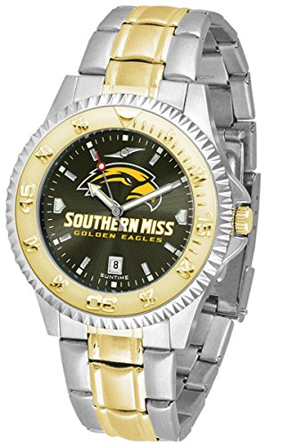 - Southern Mississippi Golden Eagles Competitor Two-Tone AnoChrome Men's Watch