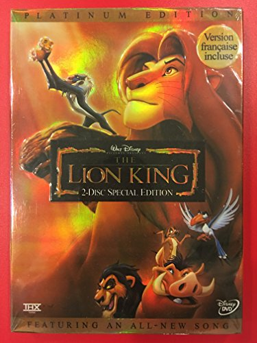 Lion King Two Disc Special 2003