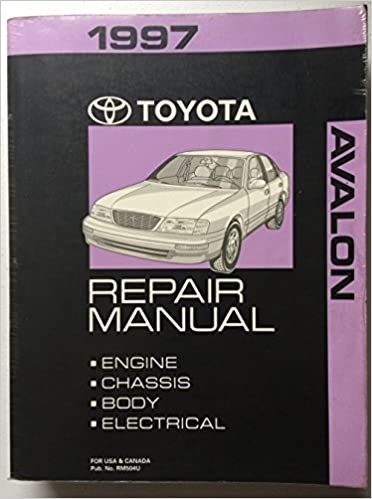 toyota factory service manual pdf