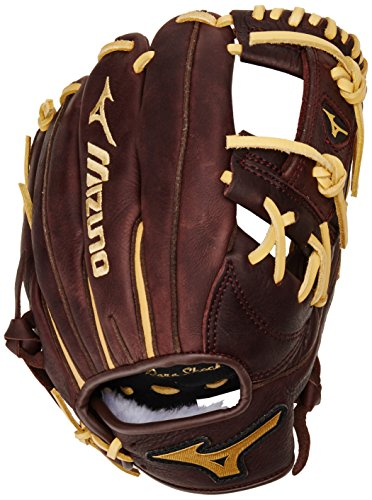 Mizuno GFN1150B1 Franchise Right Handed Throw Baseball Fielders Mitt, Coffee/Cork, 11.50-Inch