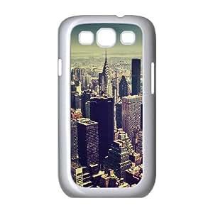 Jumphigh New York City Tilt Shift Samsung Galaxy S3 Cases, [White]