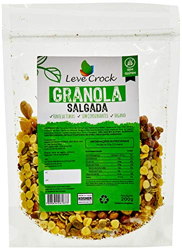 Granola Salgada Leve Crock 200g
