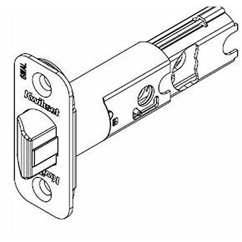 Kwikset 82246-15 Adjustable Radius Springlatch Satin Nickel Finish by Kwikset