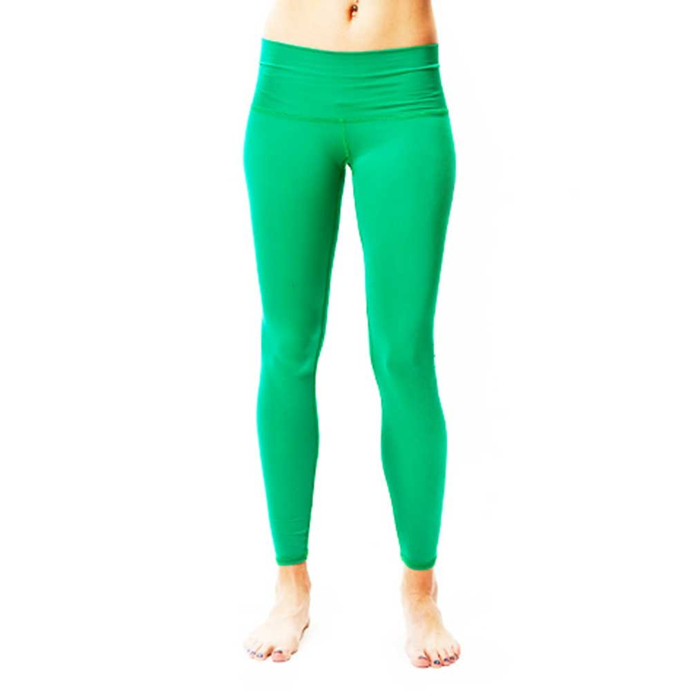 Teeki Moon Dance Green Yoga Leggings (Small): Amazon.es ...