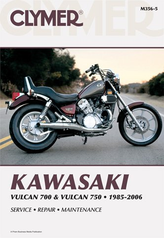Clymer Kawasaki Twins 700-750 Vulcan Manual M356-5