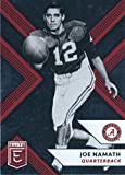 #7: 2018 Panini Elite Draft Picks #52 Joe Namath Alabama Crimson Tide Football Card