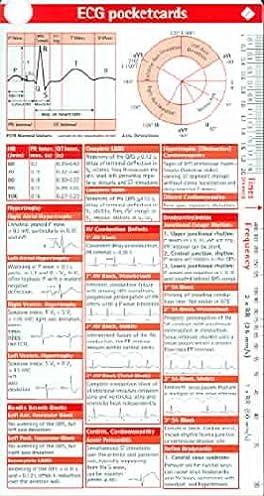 Ecg pocketcard array amazon in buy ecg pocketcard 3 card set single cards book online at rh fandeluxe Images