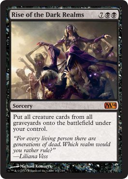 Magic The Gathering - Rise of The Dark Realms - Magic 2014 from Magic The Gathering
