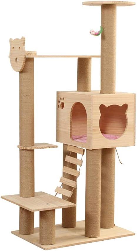 Escalada gato Torre Uña de gato Junta gato del árbol del gato ...
