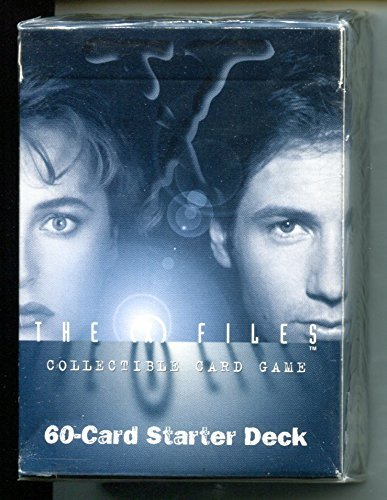 X-Files Collectible Card Game CCG 60 Card Starter Deck for sale  Delivered anywhere in USA