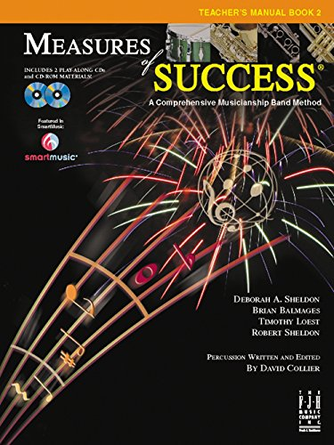 FJH Music Measures of Success Teacher's Manual Book 2