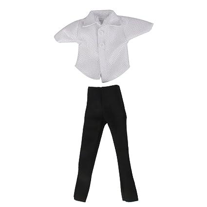 Amazon.es: perfeclan Brillante Camiseta Blanca + Pantalón ...