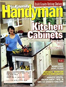 Family handyman oct 2000 books for Family handyman phone number