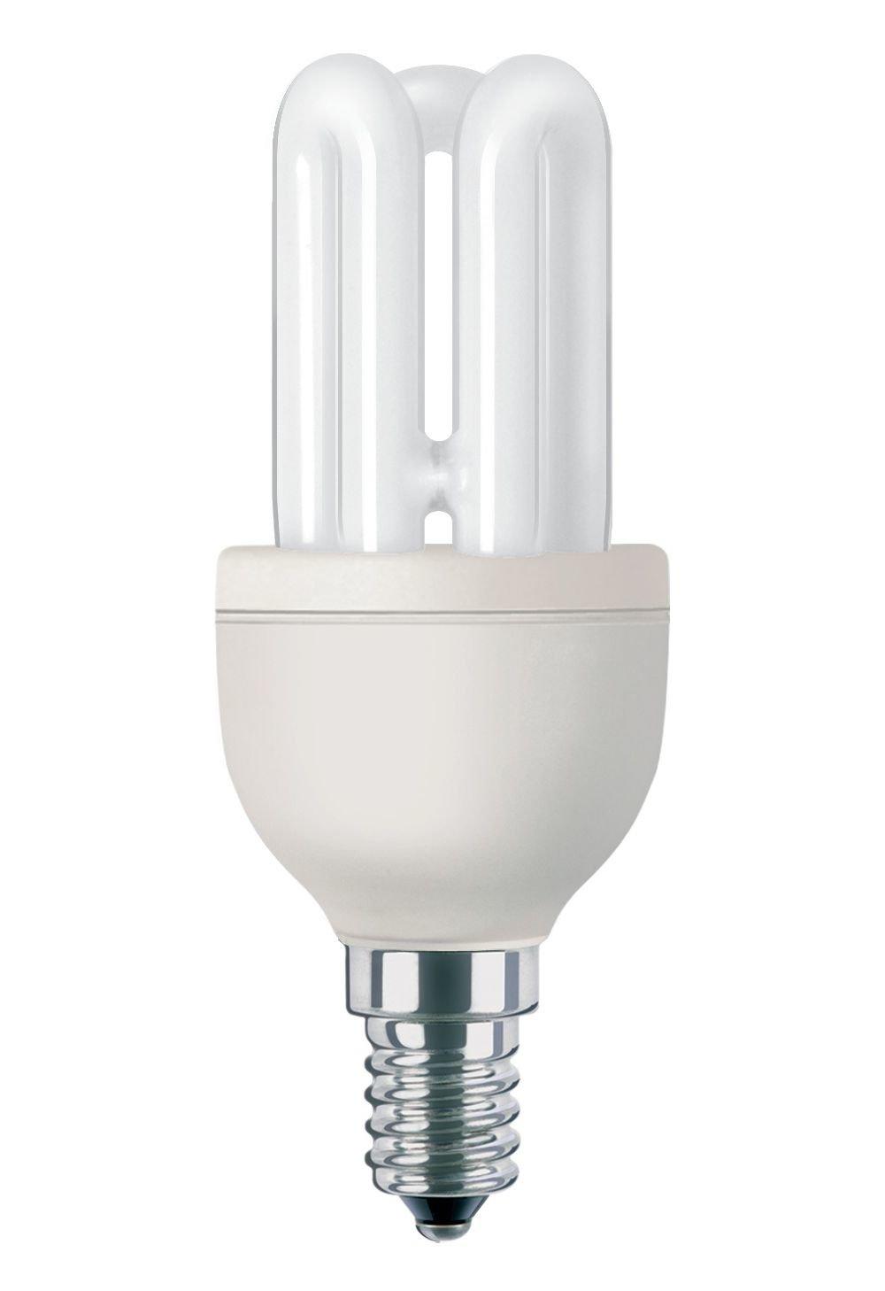 /Ampoules fluorescentes Philips Genie Ampoule /à /économie d/énergie tube 872790082747700/ampoule fluorescente/ 8/W, 38/W, Stick, E14, 400/lm, lumi/ère du jour froide
