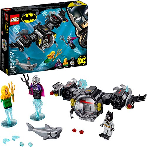 LEGO DC Batman: Batman Batsub and the Underwater Clash 76116 Building Kit, 2019 (174 Pieces) (Justice Dc Sets League Lego)