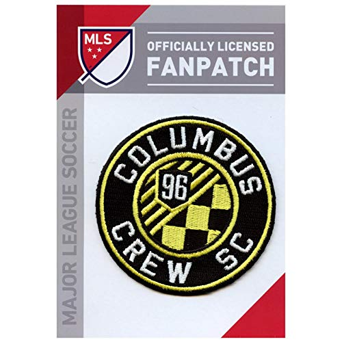 Columbus Crew Soccer Team Crest Embroidered Jersey MLS Futball Patch (Crew Embroidered Jersey)