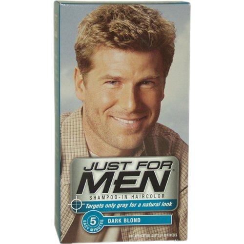 Just for Men shampooing-la couleur des cheveux, châtain / léger Brown H-15, 1 application (Pack de 3)