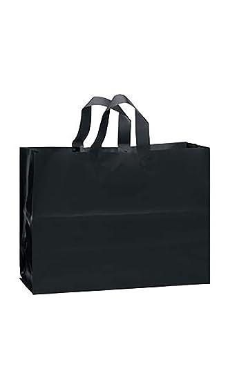 Amazon.com: Grande negro bolsas de regalo de plástico ...