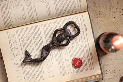 2 X Bottle Opener – Mermaid Cast Iron Beer Bottle Opener – Functional & Decorative, A Great Gift! Review