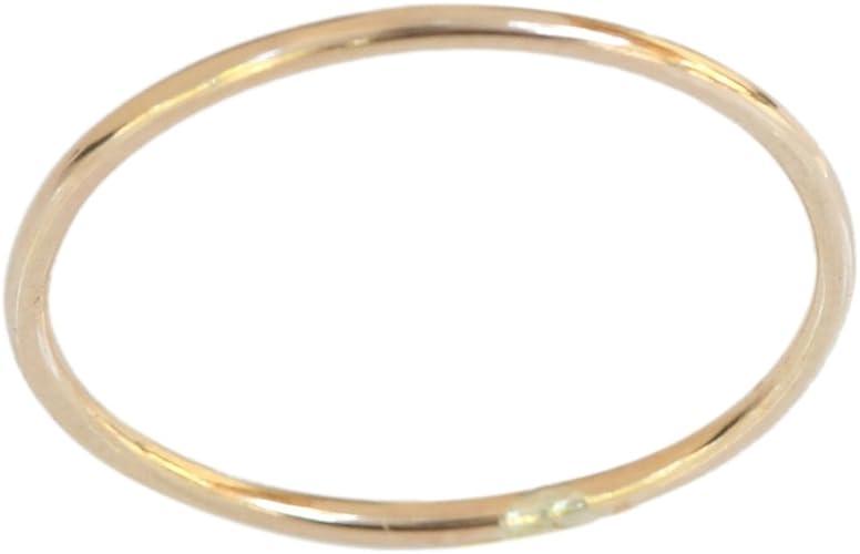 Minimalist Toe Ring Thin Toe Ring Gold toe ring 1mm Thin Gold Filled Plain Toe Ring 14K Adjustable Toe Ring