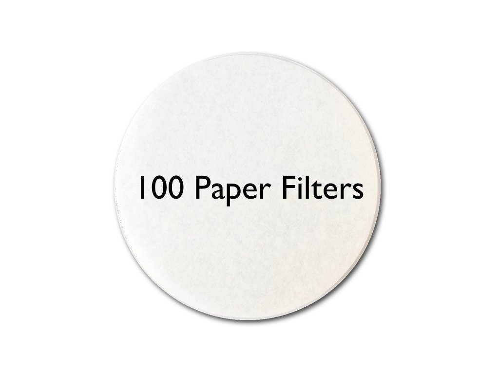 My-Cap 100 Filters for use with Caps to Reuse Capsules for Nespresso VertuoLine Brewers NVFILTER100
