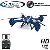 s-idee 01622 Quadrocopter Udi U842W Wifi Drohne FPV HD Kamera 4.5 Kanal 2.4 Ghz Drone mit Kamera Gyro 6 Axis Technik RC Quadro 3D VR möglich, Höhenstabilisierung, One Key Return Coming Home Funktion