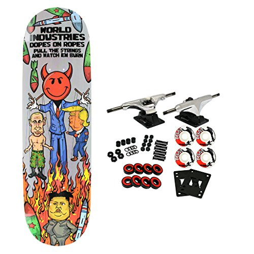 World Industries Skateboard Complete Devilman Puppet 8.5